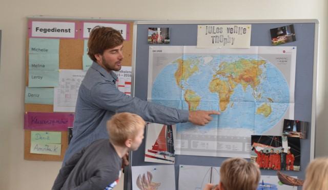 NDR und 5c begleiten den Trimaran IDEC auf Kurs in 47 Tagen um die Welt