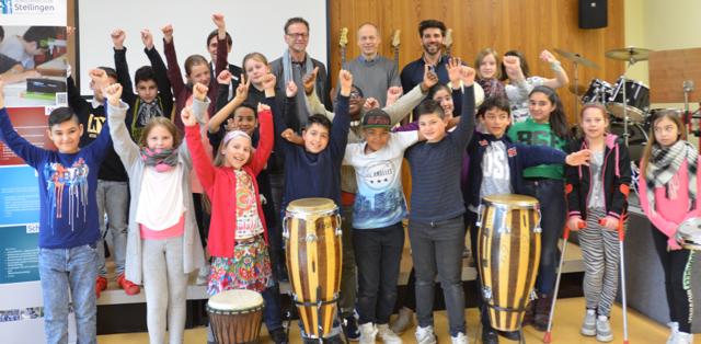 Neue Trommeln für den Musikunterricht