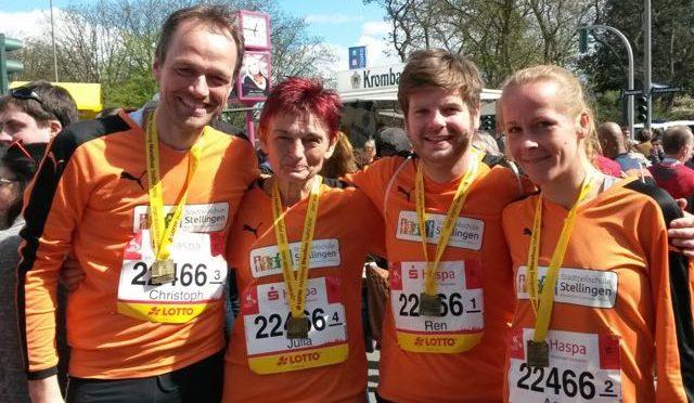 Hamburg Marathon 2016! Platz 54 von 1109 Staffeln