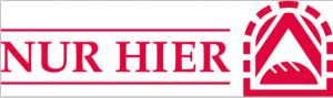 Nur Hier Logo