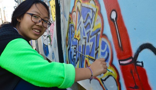 Yu-wen Chen aus Taiwan, 16 Jahre, Austauschschülerin in der Klasse 9g