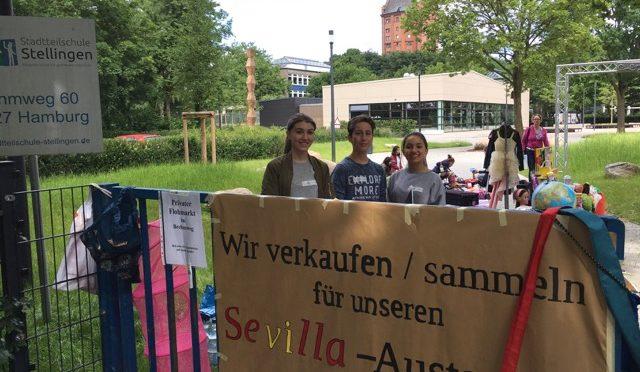 Flohmarkt im Brehmweg und in der Stadtteilschule Stellingen