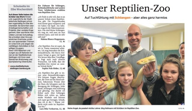 Neue Schulseite im Elbe Wocheblatt_13.Juli 2016