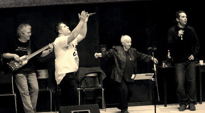 Presseinfo: Workshop und Konzert von Esther Bejarano und der Microphone Mafia