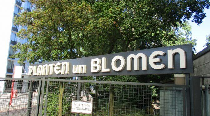 Ausflug zu Planten un Blomen
