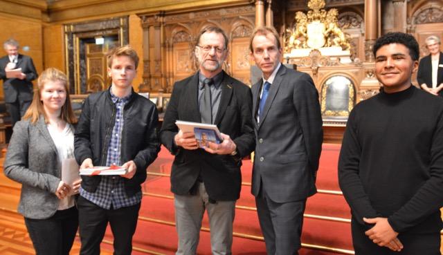 Auszeichnungen im Rathaus