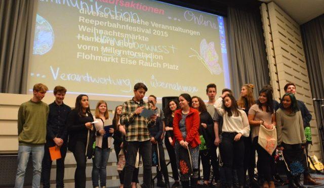 """2.Platz im Schulpreis der Hamburger Wirtschaft für das Profil """"Stellingen goes Mexico"""""""