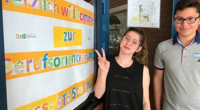 Bericht zur ersten schulinternen Berufemesse an der Stadtteilschule Stellingen