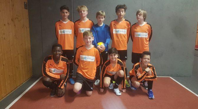 Fußball-Schulmannschaften beenden erfolgreiches Jahr 2018