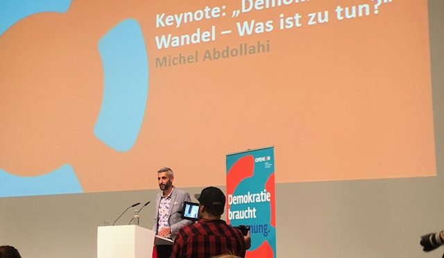 demokratie.bildung heute – OPENION Bundeskongress in Berlin