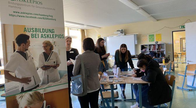 Bericht zur schulinternen Berufemesse an der Stadtteilschule Stellingen